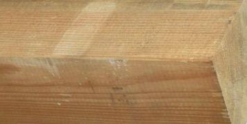 Kwasten in het hout