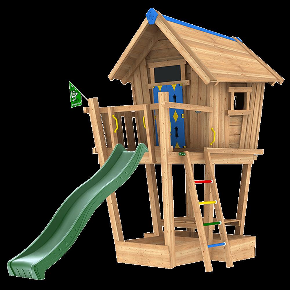 Beste Houten Speeltoestellen, Speelhuisjes en meer! | Jungle Gym® OC-92